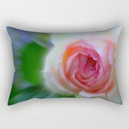 little rosebud Rectangular Pillow
