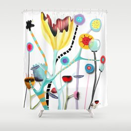 They will tell you I'm insane Shower Curtain