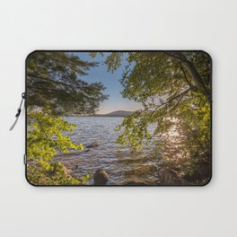 Secret Place By The Lake Laptop Sleeve