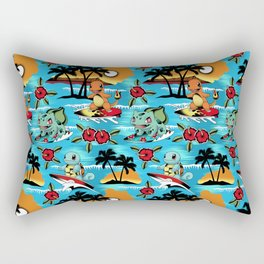Hawaii Pok and GO Rectangular Pillow