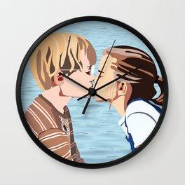 Say Something Wall Clock