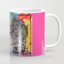 Poodle 2 pop art Coffee Mug