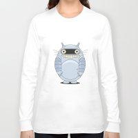 wallet Long Sleeve T-shirts featuring My Neighbor Bendoro. by Krakenstein