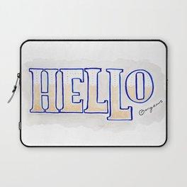 Hello Gorgeous Laptop Sleeve