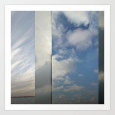 Northern Sky Fragments 4 Art Print
