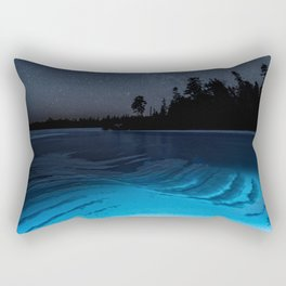Light Within the Ice Rectangular Pillow