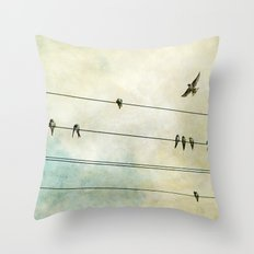 Spread My Wings And Fly Throw Pillow