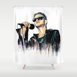Layne Staley Musician Shower Curtain