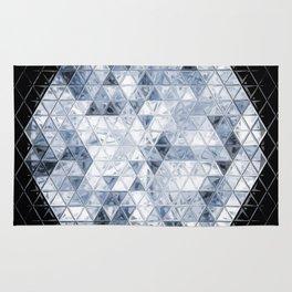 Triangel Diamonds Cut Rug