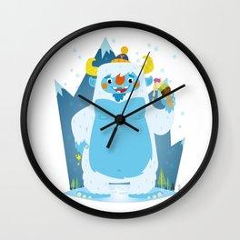 Yuum!! Wall Clock