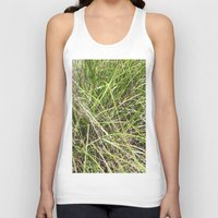 grass Tank Tops featuring GRASS by JANUARY FROST