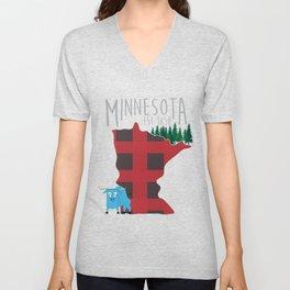 Minnesota Lumberjack Unisex V-Neck