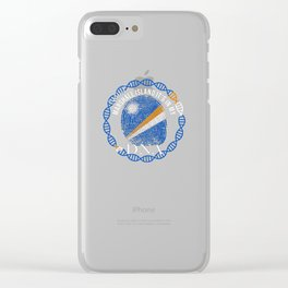 Marshall Itsland Its In My DNA Clear iPhone Case