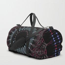 Buddhist Mandala- Bohemian sacred geometry Duffle Bag