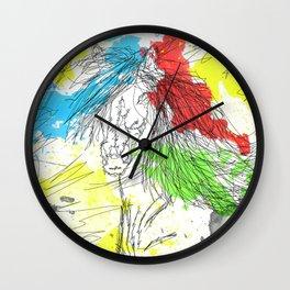 BADASS HORSE Wall Clock