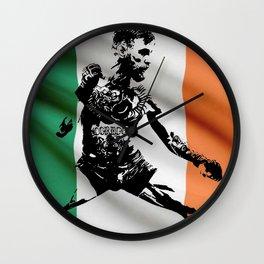 Irish Conor McGregor Wall Clock
