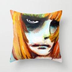 SO HAPPY Throw Pillow