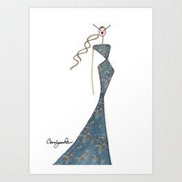 THE SWEETEST GIRL Art Print