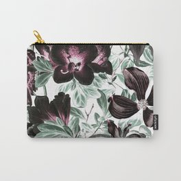 Dark flowers in lighting Carry-All Pouch