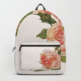 Rose Illustration Backpack
