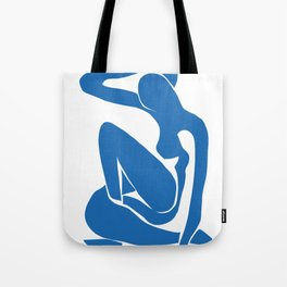 Matisse Cut Out Figure #1 Light Blue Tote Bag