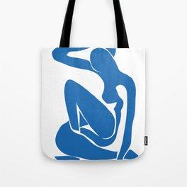 Matisse Cut Out Figure #1 Light Blue Tote Bag