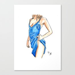 Femme 15 Canvas Print
