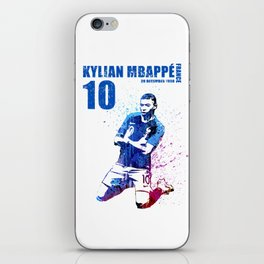 WORLD CUP 2018  FRANCE #blue 10 iPhone Skin