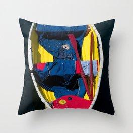 Monterey Skiff Throw Pillow