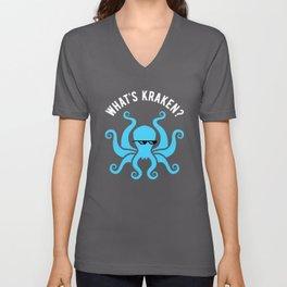 What's Kraken? Unisex V-Neck