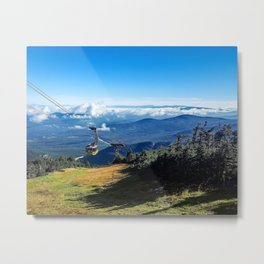Cannon Mountain's Aerial Tramway Metal Print