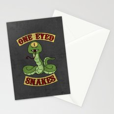 One Eyed Snakes Stationery Cards