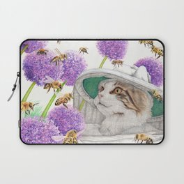 Bee Cat Laptop Sleeve