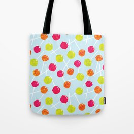 Watercolour Lolly Pops, Watercolor Popsicles Tote Bag