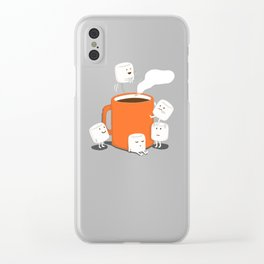 Cannonball Clear iPhone Case