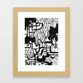 Frustrasian W1 Framed Art Print