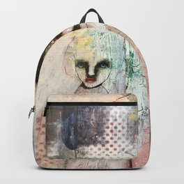 Monochrome portrait Backpack