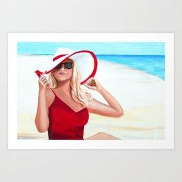 Sunshine Summer Art Print