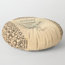 Shakespeare, Love labors lost. 1598. Floor Pillow
