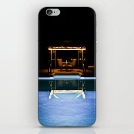 A Swim At Midnight iPhone Skin