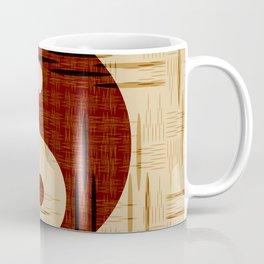 Yin Yang, Warp and Weft Coffee Mug