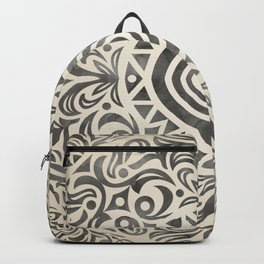 mandala6w Watercolor Mandala Backpack