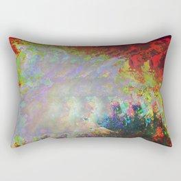 Glitch Nebula Rectangular Pillow