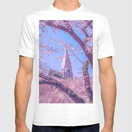Shinjuku Cherry Blossoms  T-shirt
