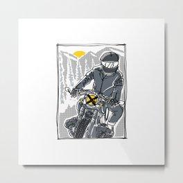 Enjoy the Ride Metal Print