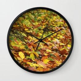 Chlorophyll Breaking Wall Clock