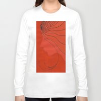 ginger Long Sleeve T-shirts featuring Ginger by mojekris