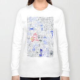 I have no Ideas, serch for characters Long Sleeve T-shirt
