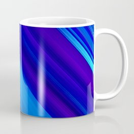 Abstract watercolor colorful lines painting Coffee Mug