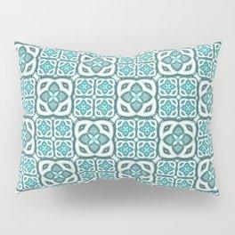 Moroccan Tile Geometric Mandala Pillow Sham